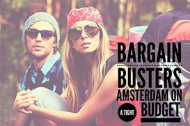 Bargain Busters - Amsterdam on a tight budget