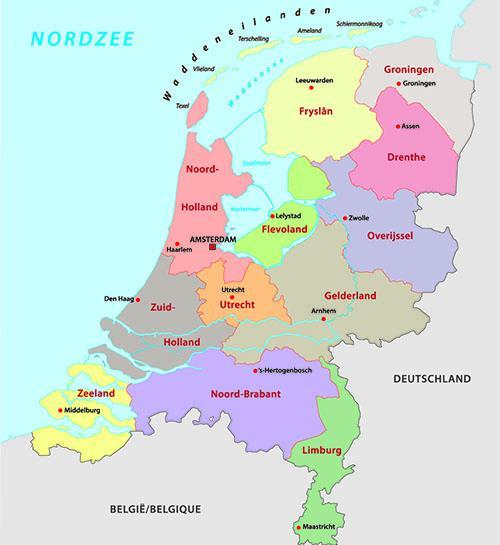 De Nederlandse Provincies