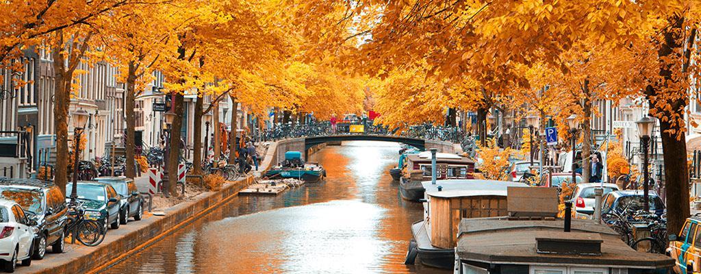 Het weer - Herfst in Amsterdam