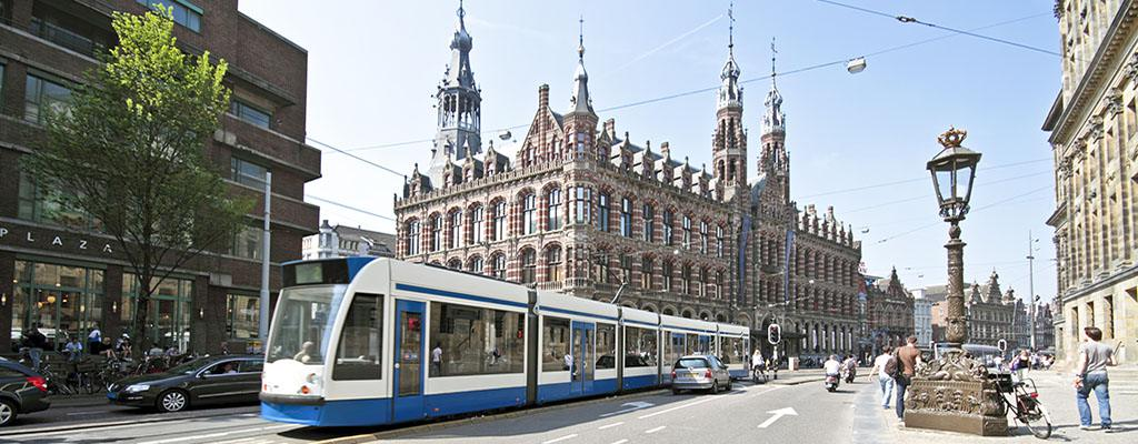 Public Tranport - Tram in Amsterdam