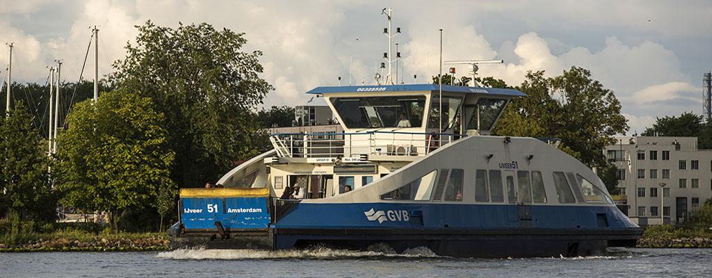 Public Transport - Ferry in Amsterdam