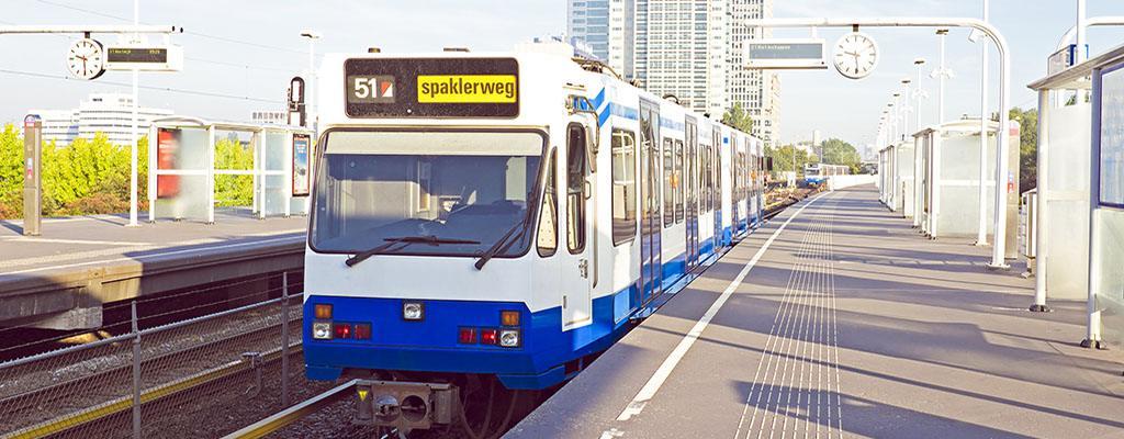 Public Transport - Metro in Amsterdam