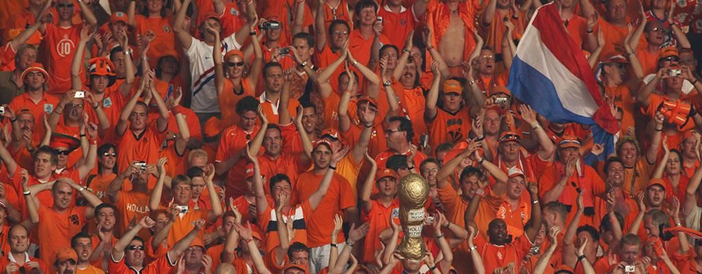 Recognition Abroad - Dutch Football Supporters in Orange