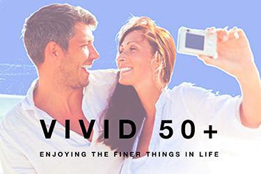 Vivid 50+ - Enjoying the finer things in life