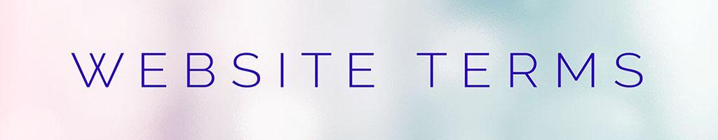 Website Terms