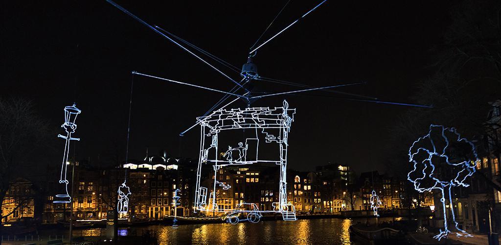 Amsterdam Light Festival - Sculpturen