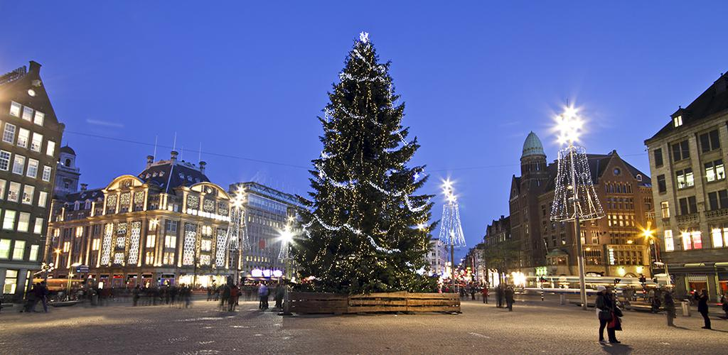 Dam Square - Christmas tree
