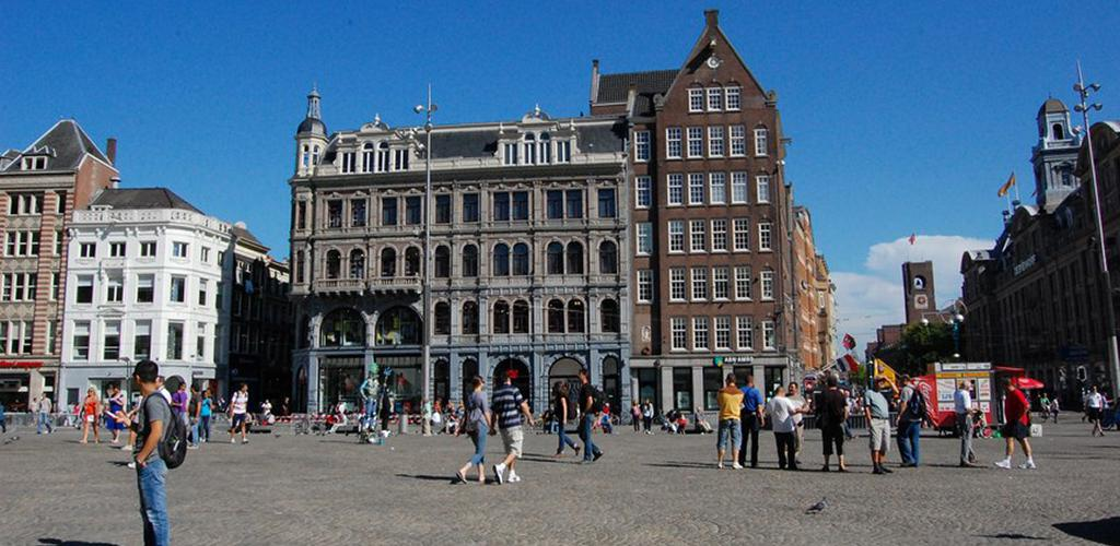 Dam Square - On a sunny day