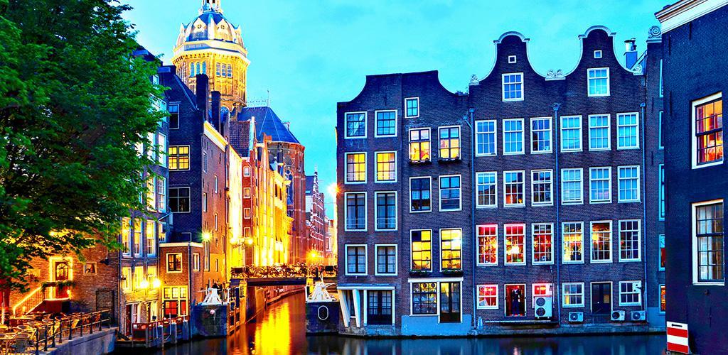 Girls in Amsterdam