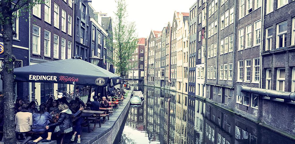 Rondvaarten in Amsterdam - Uitzicht vanaf het water