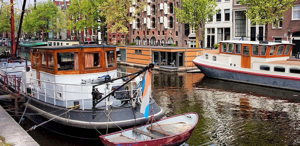 Rondvaarten in Amsterdam - Woonboten