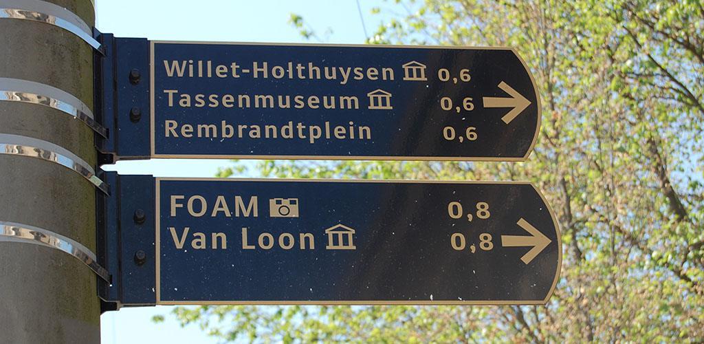 Utrechtsestraat - Borden