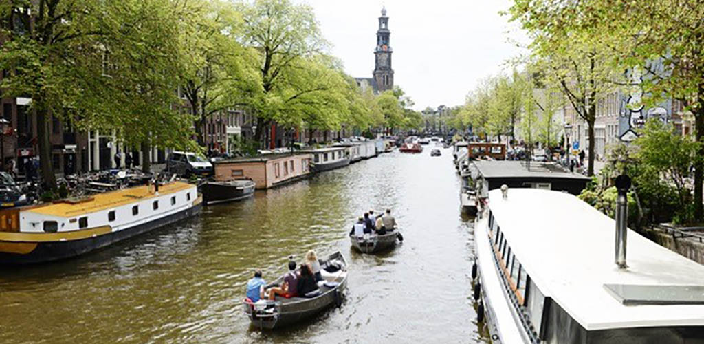 Canal Motorboats Amsterdam
