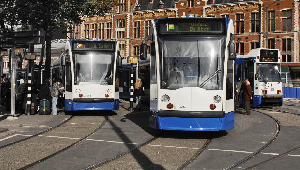 Tram tickets Amsterdam